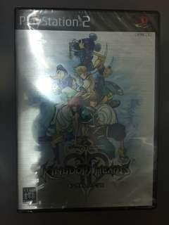 全新未開PS2 game Kingdom Hearts 2