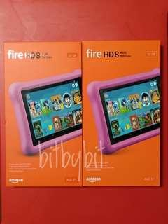 "8th generation - 2018 release All-New Fire HD 8 Kids Edition Tablet, 8"" HD Display, 32 GB, Blue Kid-Proof Case"