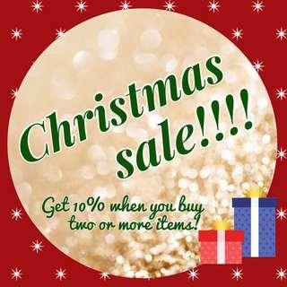 Christmas promotion!
