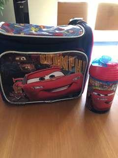 Used Lunch box with tumbler