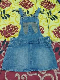 Jeans Overall Rok