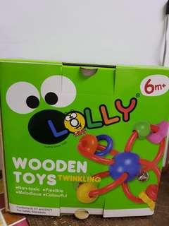 Lolly 木製玩具 - 歡樂手搖鈴