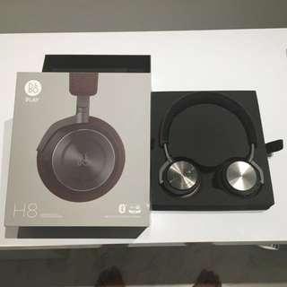 B&O Play H8 Gray Hazel Bluetooth Wireless Headphone