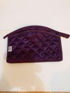 化粧袋purple