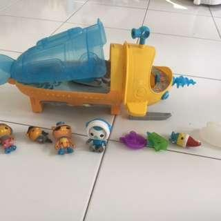 Octonauts Octopod toy