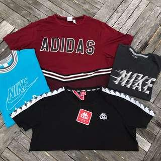 Women's Crop Tops!