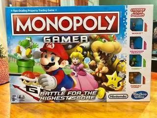 MONOPOLY Gamer Nintendo/Mario Edition