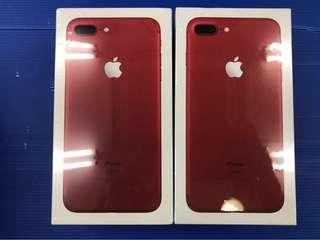 IPhone 7 Plus red 128gb (new)
