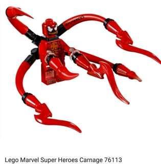 Lego Marvel Super Heroes Carnage 76113