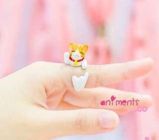 Lucky Cat Ring