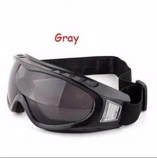 Gray(black) goggles For nerf airsoft paintball Wars