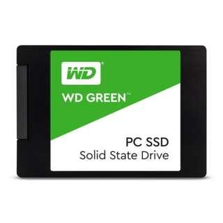 【前衛科技】WD SSD 120GB 2.5吋固態硬碟(綠標) WDS120G2G0A SSD