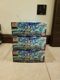 <Final Clearances> HGBD Gundam 00 Sky (Higher than Sky Phase)