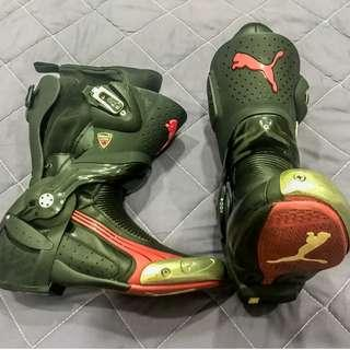 PUMA Genuine Ducati Motorcycle boots - great condition!