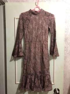 Lace Dress / Christmas party dress