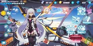 Honaki Impact 3 Veteran account