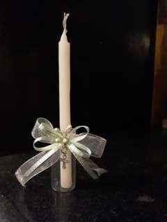 Personalized Baptismal Candles