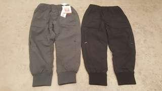 BNWT - UNIQLO WARM LINED PANTS FOR BOYS