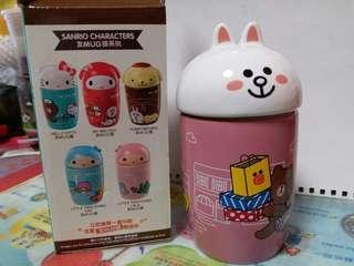 7-11 陶瓷杯LINE CONY MUG頭