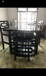 John Erdos Commun Table Set