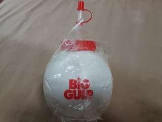 $5 NEW BIG GLUP SOCCER MUG WITH HANDLE AND STRAW