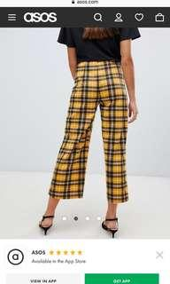 ASOS new look cropped trousers