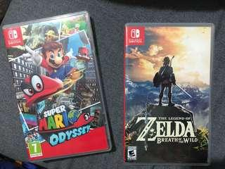 Nintendo Switch Super Mario and Legend of Zelda