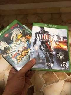 Naruto shippudden 4 and Battlefield 4