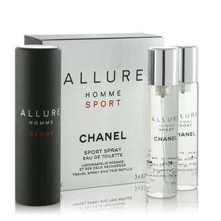 Chanel Homme Sport travel Kit
