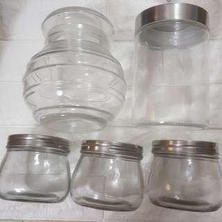 Glass Jar | Top Left (Ikea)