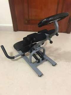 Black Power -Lejel abdominal exercise station