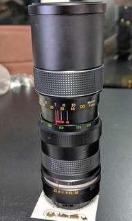 古董相機鏡頭 HANSA AUTO ZOOM 1:3.8 f=85~205mm No.501558