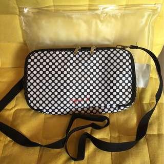 Agnes b.  Bag 全新 100%new 斜孭袋 則孭袋 旅行銀包 旅行包 隨身袋 AngesB
