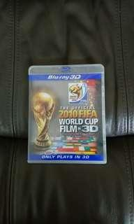 the official 2010 FIFA world cup film in 3D blu-ray 3D
