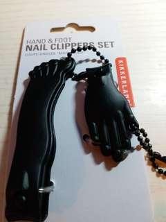Hand & Foot nail clippers set