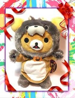 San-X Halloween Rilakkuma Hand Puppet Plush