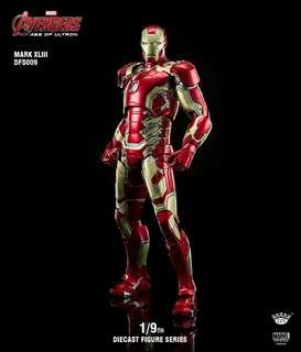 King Arts 1/9th Scale Diecast Mark 43 Iron Man