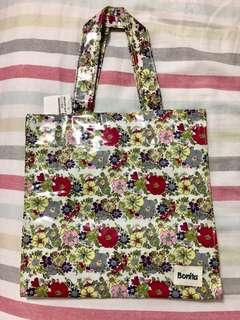 Bonita 正方防水外層花朵提袋