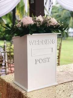 [RENTAL] Wedding Post/Money Box 👰🏻🤵🏻