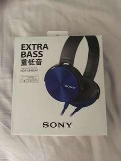 🚚 SONY XB550AP EXTRA BASS™ Headphones