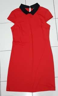 Dorothy Perkins Red Dress UK8