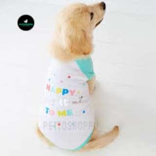 Happy Birthday To Me Pet Dog Tee Shirt