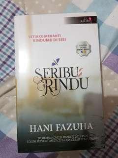 SERIBU RINDU ( MALAY NOVEL )