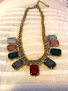 Gemstone Fashion Necklace