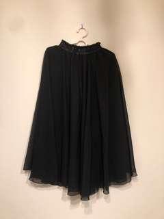🚚 Ptt熱賣83cm雪紡裙