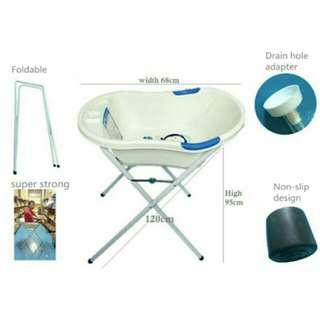❄Brand New Puku Bath Tub Stand (Selling Stand Only)