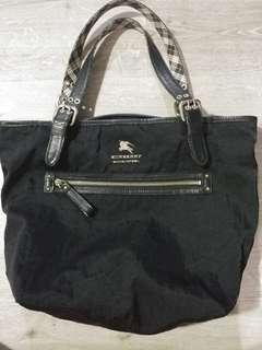 Burberry blue label tote bag