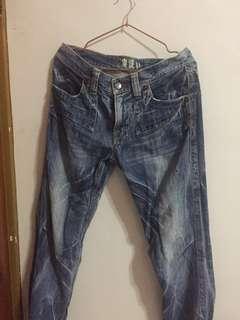 🚚 鬼洗牛仔褲👖男生牛仔長褲
