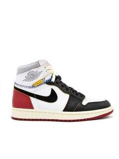 US 5 and 11 Union Air Jordan 1 Red White Black