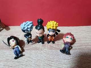 🚚 #PrelovedWithLove Naruto Figurines